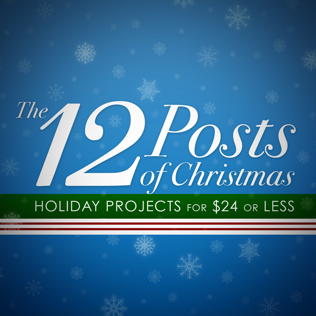 12 projects, all under $24 {Canary Street Crafts}
