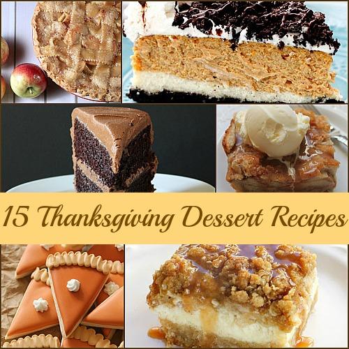 15 Thanksgiving Dessert Recipes