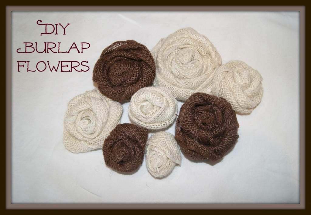 easy diy burlap flowers canary street crafts
