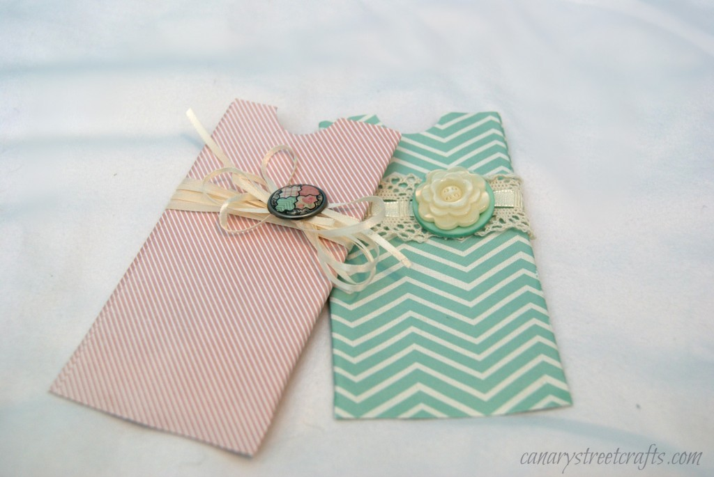 Diy gift card holder canary street crafts for Craft ideas using empty toilet paper rolls