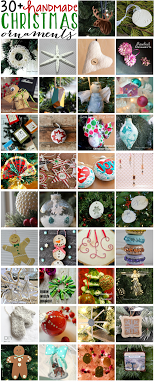 30 handmade ornaments