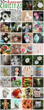 30 handmade ornaments