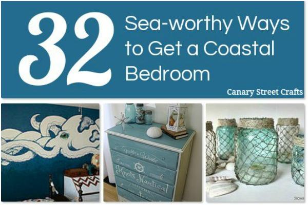 Coastal Bedroom Decor Ideas Canary Street Crafts