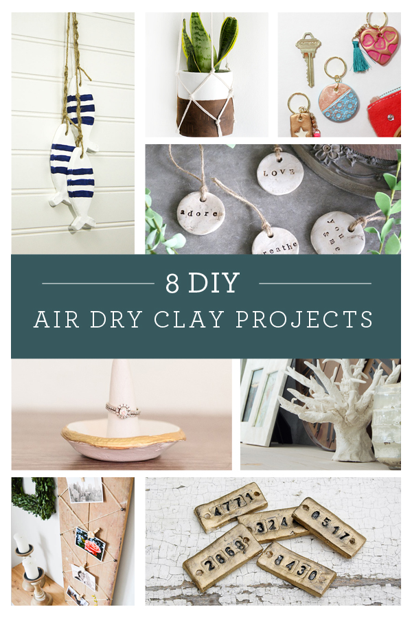 diy rustic clay tags canary street crafts. Black Bedroom Furniture Sets. Home Design Ideas