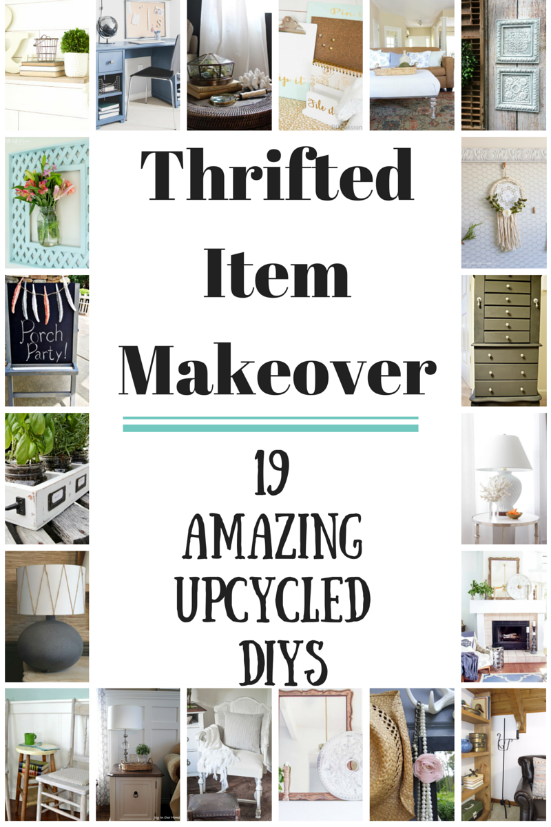 Lots of ideas for using thrifted items to create your own unique home decor. Painted metal tiles. Using thrift store items to create your own unique and inexpensive home decor. http://canarystreetcrafts.com/
