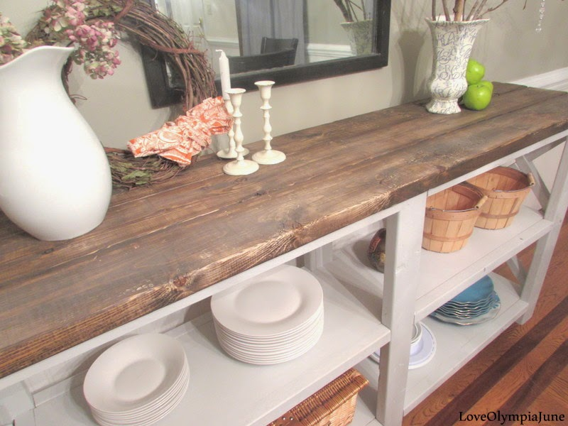 DIY Sideboard {Love Olympia June}