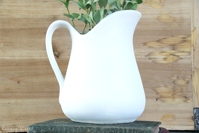 How to DIY faux ironstone the cheap and easy way. http://canarystreetcrafts.com/
