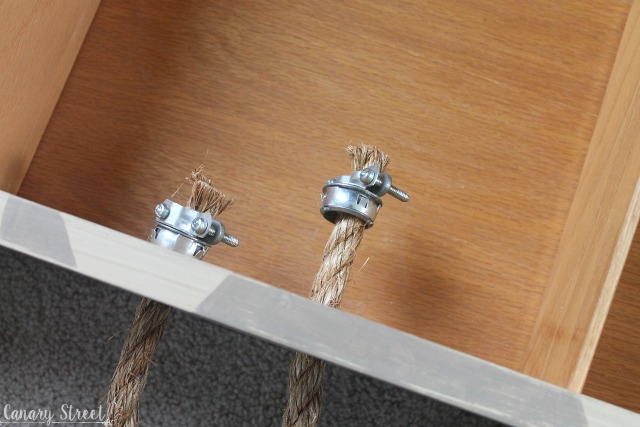 How To Attach Large Rope Handles Canary Street Crafts