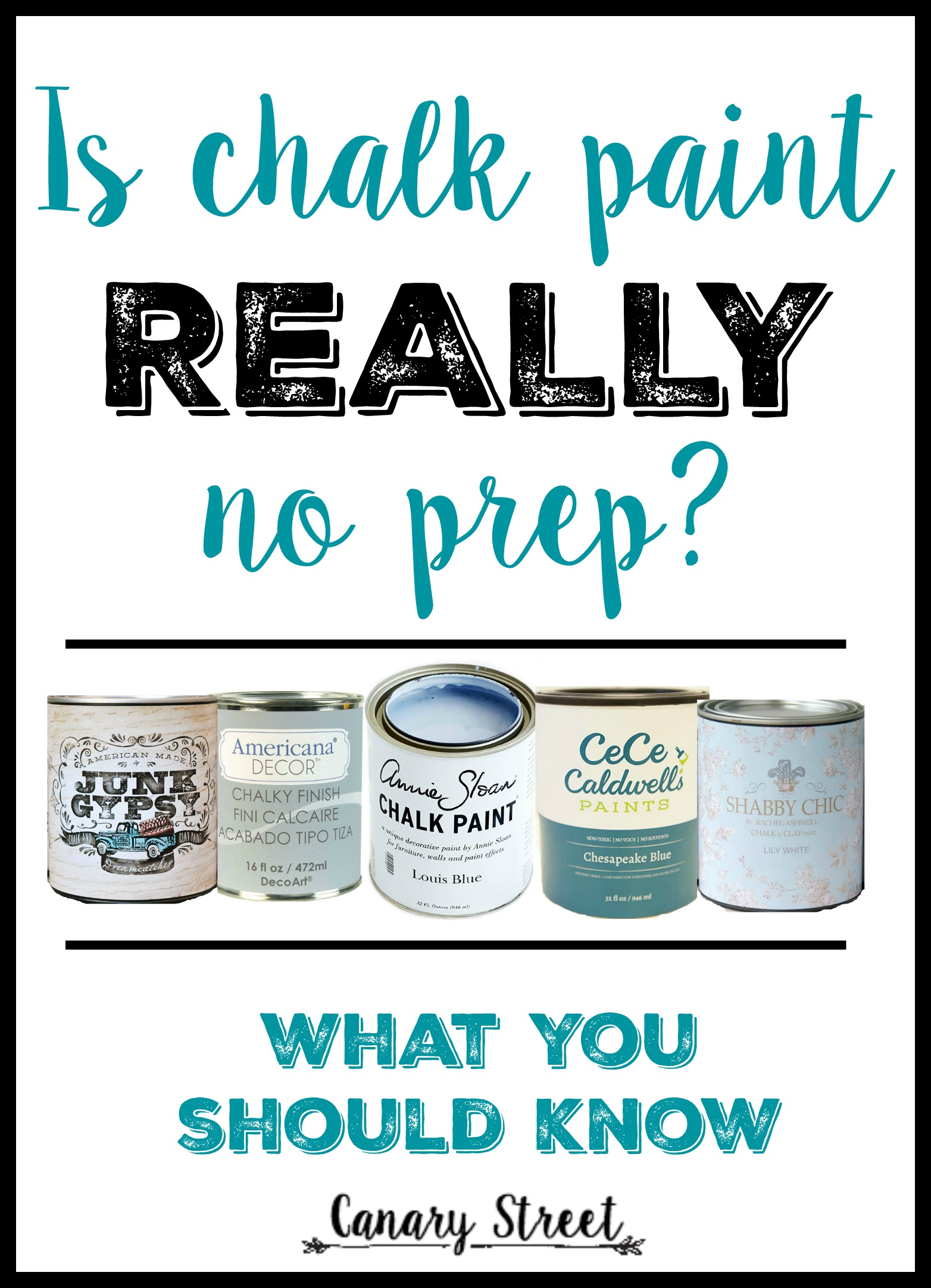 Annie Sloan Chalk Paint Tips For Beginners Canary
