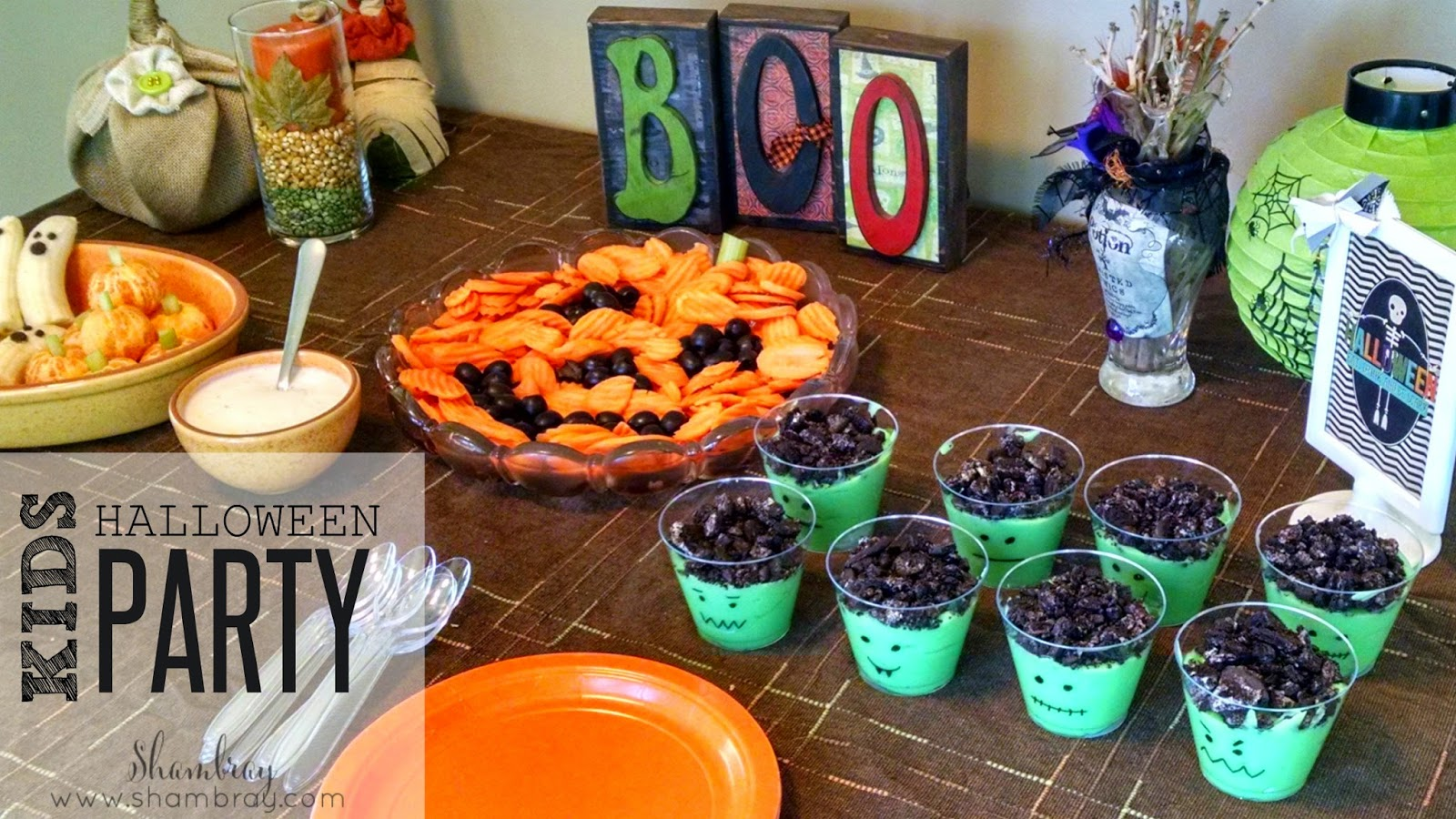 Pics Photos  Halloween Party Food For Kids Halloween Brownies - Kids Halloween Party
