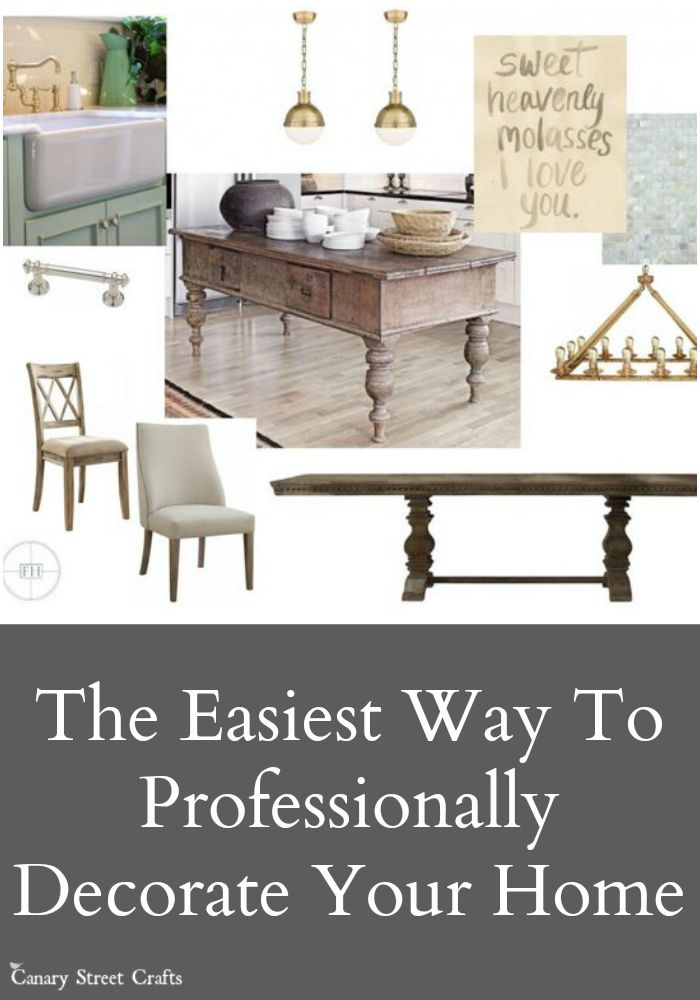 The secret to professionally decorating your home the easy way!